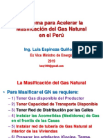 Masificacion Gas Peru 2019