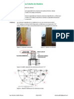 Analisis de Columna de Madera