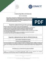 Criterios Area VII-FF