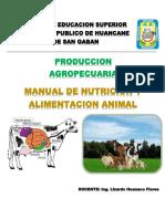 Nutricion y Alimentacion Animal - Lizardo HF
