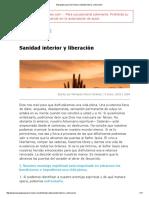 Bosquejos para Sermones _ Sanidad interior y liberación.pdf