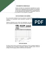 20 Documentos Comerciales