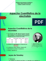 Aspectos Cuantitativo de La Electrolisis