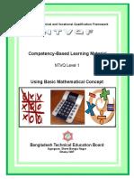 Use Basic Mathematical Concept Level-01