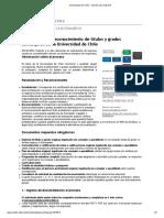 Universidad de Chile - Versión Para Imprimir