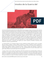 Episodios Incómodos de La Guerra Del Chaco