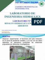 Laborat 7- Ingenieria Hidraulica 2019-1