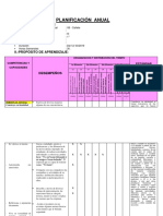 Plan Anual de Tutoria -Isabel