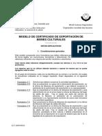 Certificado deExportaciónde Bienes Culturales - UNESCO - IPC.pdf