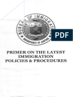 Bureau of Immigration Primer on the Latest Immigration Policies and Procedures 5.16.14