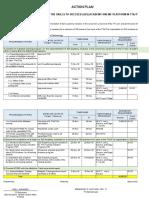 Action Plan for S2-SFIST JOel L Navarro1