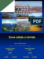 Zonas Climáticas y Paisajes