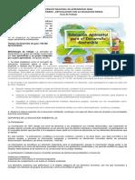 Diseño de Proyectos de Educación Ambiental - Lectura Foro