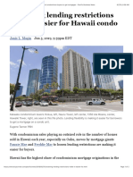 Loosening Lending Restrictions Make It Easier for Hawaii Condominium Buyers to Get Mortgages - Pacific Business News