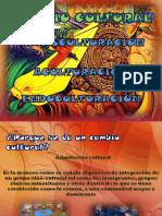 n 3 Cambio Cultural Endoculturación Transculturación y Aculturacion