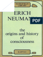 Erich Neumann, C. G. Jung the Origins and History of Consciousness