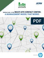 ICMI HP Master Multi Site Contact Center