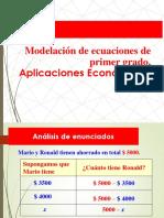 Modelamiento ECUACIONES_Ingreso,Costo y Utilidad