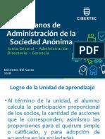 Tema 04_Organos Societarios de La SA