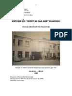 Historia Hospital San Jose de Osorno
