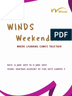 WINDS Weekend 2019 Band Directors Circular