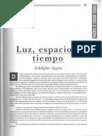 21-Luz, Espacio y Tiempo-Adolphe Appia