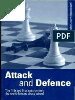 M. Dvoretsky & a. Yusupov - Attack and Defence (Batsford 1998)