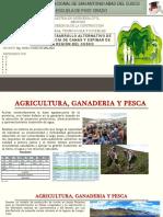 Agricultura, Ganaderia y Pesca - Mineria