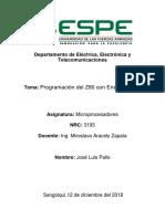 Programacion Z80 en Ensamblador