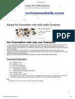 Construyelo Tu Mismo_ Como Construir Un Transmisor de Fm