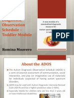 Ados 2 Toddler Module