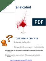 Presentación Alcohol