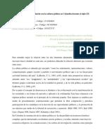 La democracia y su relación con la cultura política en Colombia durante el siglo XX