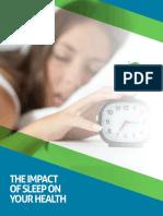 The Impact of Sleep on Your Health