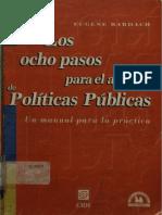 Un Resumen de Los 8 Pasos Para El Análisis de La Política Publica