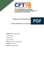 1 Trabajo investigación Del Diodo Semiconductor listo