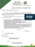Designation Ict Coordinator 1