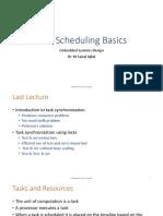 L12 - Task Scheduling Basics
