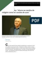 Gilles Lipovetsky_ _Ahora se cambia de religión como se cambia de auto_ - LA NACION