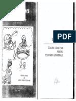 Jocuri Didactice Pentru Educarea Limbajului Elena Pintilie