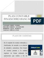 Plan Contable Financiero-bancario