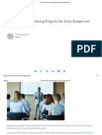 The 26 Best Sales Training Programs for Every Budget and Team