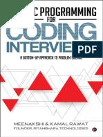 Meenakshi , Kamal Rawat - Dynamic Programming for Coding Interviews_ a Bottom-Up Approach to Problem Solving (2017, Notion Press)