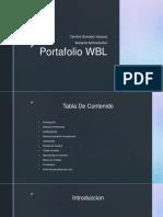 Failed portfolio