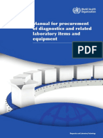 130627 Manual for Procurement of Diagnostics-001-June2013