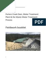 year 7 geh fieldwork booklet porters creek dam