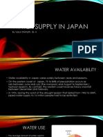 Japan Case Study- Water Supply