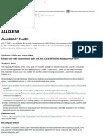 Toolkit:ALLCLEAR - SKYbrary Aviation Safety