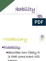 Lesson 27 Probability