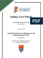 Australian Labor Law
